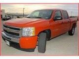 2009 Victory Red Chevrolet Silverado 1500 LT Crew Cab #21703407