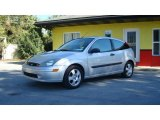 2003 CD Silver Metallic Ford Focus ZX3 Coupe #21705863