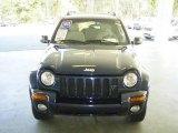2002 Patriot Blue Pearlcoat Jeep Liberty Limited 4x4 #21711974