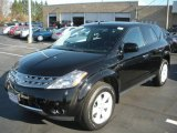 2007 Super Black Nissan Murano S AWD #21703756