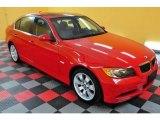 2006 Electric Red BMW 3 Series 330xi Sedan #21706815