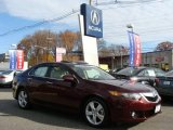 2009 Basque Red Pearl Acura TSX Sedan #21764434