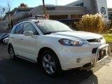 2008 White Diamond Pearl Acura RDX  #21768954