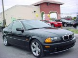 2002 Jet Black BMW 3 Series 325i Coupe #21775672