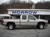 2003 Light Pewter Metallic Chevrolet Silverado 1500 LS Extended Cab 4x4 #21768339