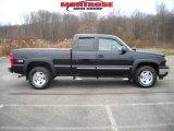 2007 Black Chevrolet Silverado 1500 Classic LT Extended Cab 4x4 #21777947