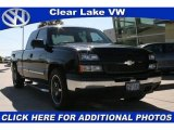 2007 Black Chevrolet Silverado 1500 Classic LS Extended Cab #21782600