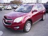 2010 Cardinal Red Metallic Chevrolet Equinox LT #21782176