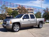 2009 Graystone Metallic Chevrolet Silverado 1500 LT Crew Cab #21777089