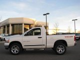 2006 Bright White Dodge Ram 1500 SLT TRX Regular Cab 4x4 #21777667