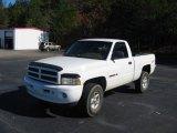 1998 Bright White Dodge Ram 1500 Sport Regular Cab 4x4 #21779077