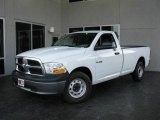 2010 Stone White Dodge Ram 1500 ST Regular Cab #21763184