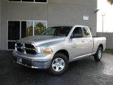 2010 Bright Silver Metallic Dodge Ram 1500 SLT Quad Cab #21763187