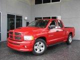 2004 Flame Red Dodge Ram 1500 Sport Quad Cab #21763201