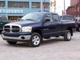 2007 Patriot Blue Pearl Dodge Ram 1500 SLT Quad Cab 4x4 #21770506