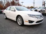 2010 White Platinum Tri-coat Metallic Ford Fusion SEL #21770411