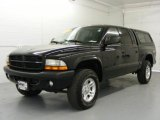 2003 Black Dodge Dakota SXT Quad Cab 4x4 #21779096