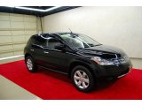 2007 Super Black Nissan Murano S #21769333