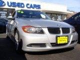 2006 Titanium Silver Metallic BMW 3 Series 325xi Sedan #21782062
