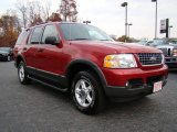 2003 Redfire Metallic Ford Explorer XLT 4x4 #21770414