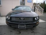 2005 Black Ford Mustang V6 Deluxe Coupe #21776482