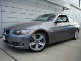 2007 Space Gray Metallic BMW 3 Series 335i Coupe #21763538