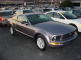 2007 Tungsten Grey Metallic Ford Mustang V6 Deluxe Coupe #21779079