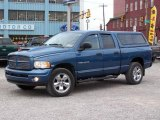2004 Atlantic Blue Pearl Dodge Ram 1500 SLT Quad Cab 4x4 #21770509