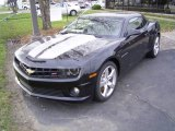 2010 Black Chevrolet Camaro SS/RS Coupe #21782166