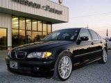 2002 Jet Black BMW 3 Series 330i Sedan #21867738