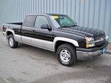 2004 Black Chevrolet Silverado 1500 Z71 Extended Cab 4x4 #2168041
