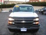 2006 Summit White Chevrolet Silverado 1500 Work Truck Regular Cab 4x4 #2167686