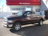 2005 Deep Molten Red Pearl Dodge Ram 1500 SLT Quad Cab 4x4 #2167211