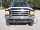 2000 Oxford White Ford F250 Super Duty Lariat Crew Cab 4x4 #21878686