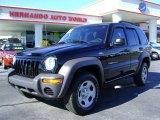 2002 Black Jeep Liberty Sport 4x4 #2168673