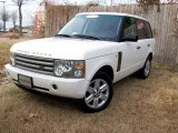 2004 Chawton White Land Rover Range Rover HSE #1799048