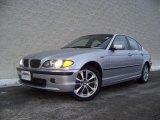2004 Titanium Silver Metallic BMW 3 Series 330xi Sedan #1838586