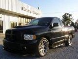 2005 Black Dodge Ram 1500 SRT-10 Regular Cab #21930235
