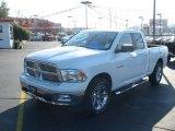 2010 Stone White Dodge Ram 1500 Big Horn Quad Cab #21942347