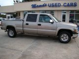 2001 Sunset Gold Metallic Chevrolet Silverado 1500 LS Crew Cab 4x4 #21937404