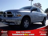 2010 Bright Silver Metallic Dodge Ram 1500 SLT Quad Cab #21933560