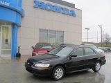 2002 Nighthawk Black Pearl Honda Accord EX Sedan #21924215