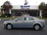 2008 Golden Pewter Metallic Chevrolet Malibu LS Sedan #21937434