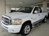2006 Bright White Dodge Ram 1500 Laramie Quad Cab 4x4 #21940398