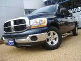 2006 Patriot Blue Pearl Dodge Ram 1500 SLT Quad Cab #21929391