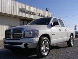 2008 Bright White Dodge Ram 1500 Big Horn Edition Quad Cab #21930241