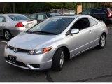 2007 Alabaster Silver Metallic Honda Civic EX Coupe #21929061