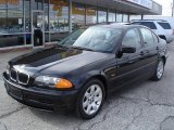 2000 Jet Black BMW 3 Series 323i Sedan #22003893