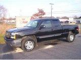 2003 Black Chevrolet Silverado 1500 LS Extended Cab 4x4 #22002675
