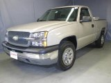 2005 Silver Birch Metallic Chevrolet Silverado 1500 Regular Cab 4x4 #22003267